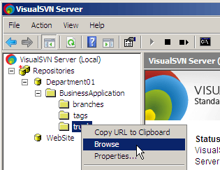 Restrict access to visualsvn server